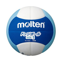 ◆◆ <モルテン> MOLTEN ドッジボール2200 D1S2200BC (ブルー×シアン×ホワイト) (ドッジボール)
