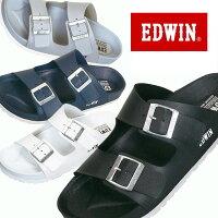 即納可☆【EDWIN】エドウィン超特価半額以下メンズコンフォートサンダルEW9001