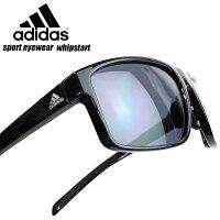 即納可☆【adidas】アディダスWHIPSTARTスポーツサングラス軽量アウトドアゴルフジョギングオールスポーツ対応A423006050