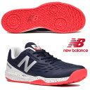 即納可★ 【New Balance】ニューバランス メンズ テニスシューズ MCO796 D1 オムニ/クレーコート MCO796D1 2E