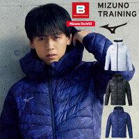 即納可☆【MIZUNO】ミズノテックフィルブレサーモフードジャケット中綿ジャケットフーディーメンズ32ME0536