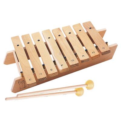 おもちゃの木琴|アウリスシロホン ダイヤトニック8音