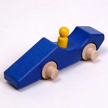 ニックスロープ パーツ スロープ用 エフワン 青 スロープ スロープトイ 出産祝い 誕生日 プレゼント クーゲルバーン 木製 知育玩具 赤ちゃん 0歳 1歳 2歳 男の子 女の子