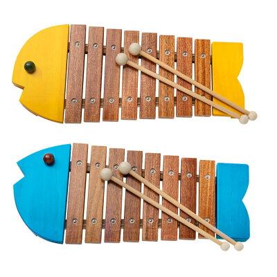 おもちゃの木琴|おさかなシロフォン