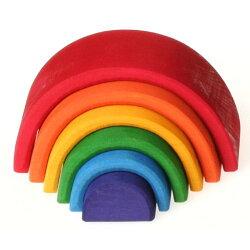 【全品最大600円offクーポン】虹色トンネル 小 アーチレインボー グリムス/GRIMMS グリムス社 木のおもちゃ 積み木 つみき 積木 木製玩具 おもちゃ 知育玩具 誕生日 出産祝 シュタイナー 0歳 1際 2歳 男の子 女の子