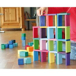 積み木 カラーチャートブロック【名入れ 名前】グリムス社 木のおもちゃ グリム 男の子 出産祝い 木製玩具 女の子 知育玩具 誕生日 1歳 シュタイナー