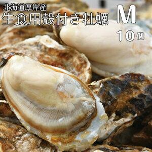 【マルえもん Mサイズ10個】北海道厚岸産本養殖牡蠣生食用