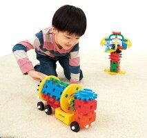 ★メーカー公式ショップ★学研ニューブロックつなげてまわる!ギアパック83197学研ステイフル安全ブロックおもちゃ知育玩具