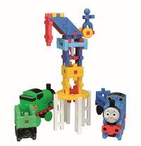 ★メーカー公式ショップ★学研ニューブロックトーマスとパーシー83201学研ステイフル安全ブロックおもちゃ知育玩具