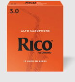 D'Addario Woodwinds /RICO リコ アルトサックス用リード(10枚入り)【ダダリオ ウッドウィンズ/リコ】