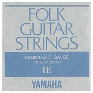 YAMAHA/アコースティック弦/フォーク弦 バラ FS-521(1E)【ヤマハ】