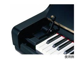 ピアノ鍵盤蓋から指づめ防止!フィンガード【鍵盤蓋開閉補助具・UP専用】