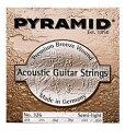 【5,250円以上お買い上げで送料無料!!】PYRAMID/アコ弦 Premium Bronze Acoustic Guitar Stri...