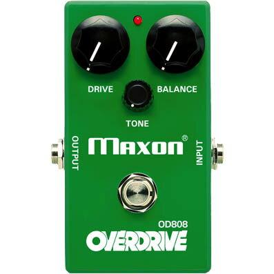 ギター用アクセサリー・パーツ, エフェクター MAXONOD808 -Overdrive-