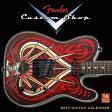 Fender Custom Shop Guitar 2017 Calendar フェンダーカスタムショップカレンダー