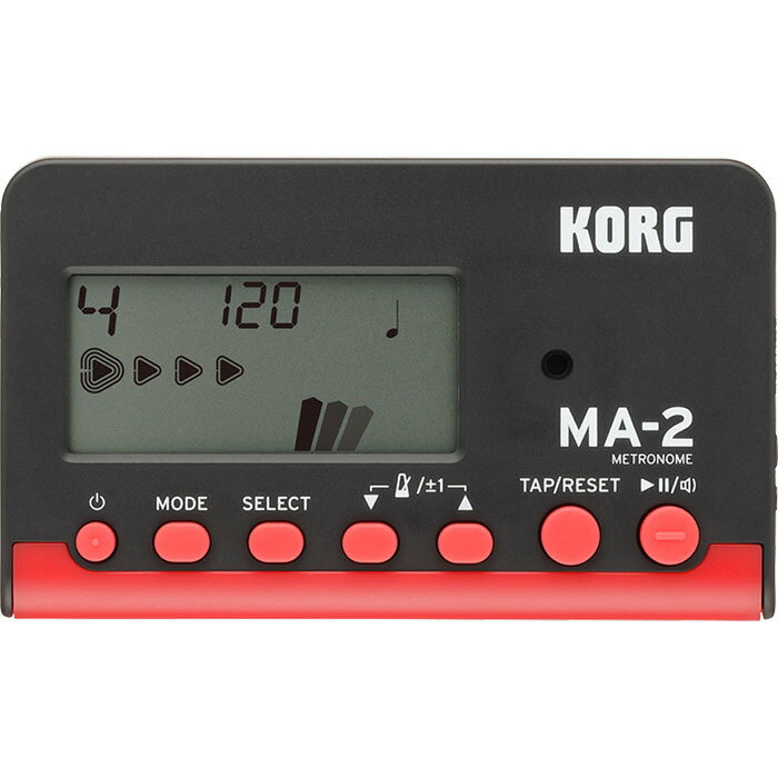 KORG/デジタルメトロノーム MA-2-BKRD【コルグ】 【メール便発送代引き不可】