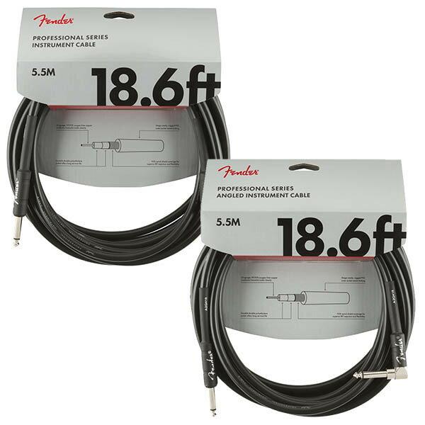 ケーブル, その他 Fender PRO CABLE 18.6ft5.5m
