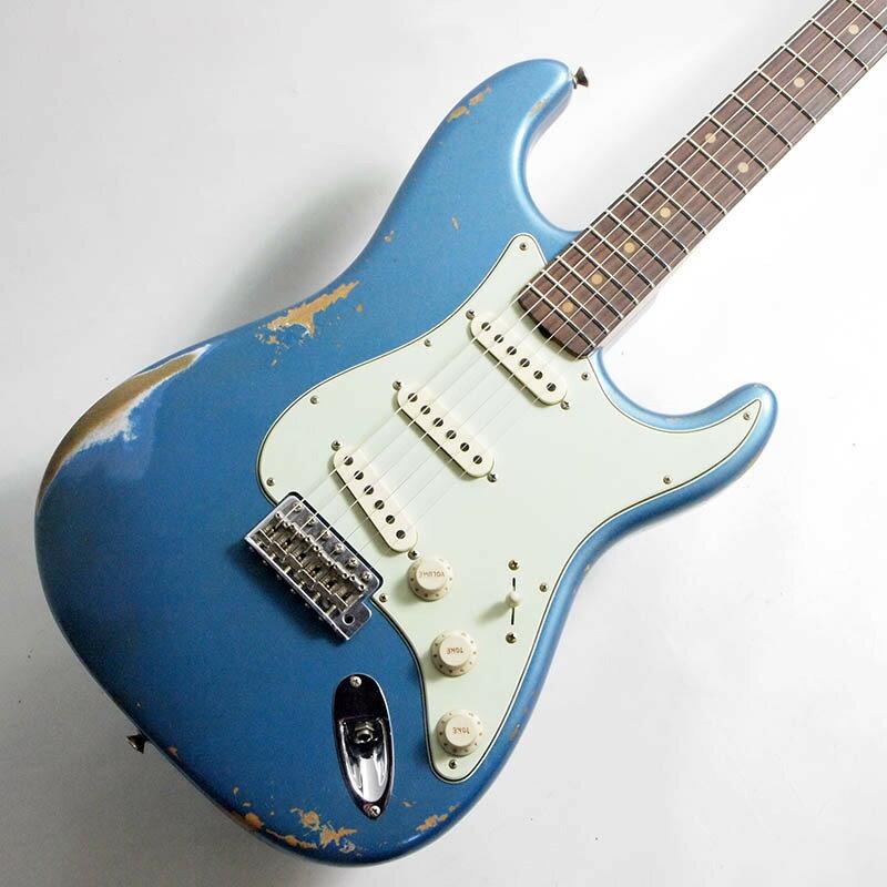 ギター, エレキギター Fender Custom Shop Time Machine 1959 Stratocaster Heavy Relic Rosewood Aged Lake Placid BlueSN CZ543358 3.44kg