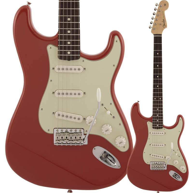 ギター, エレキギター Fender Made in Japan Traditional 60s Stratocaster, Rosewood Fingerboard, Fiesta Red