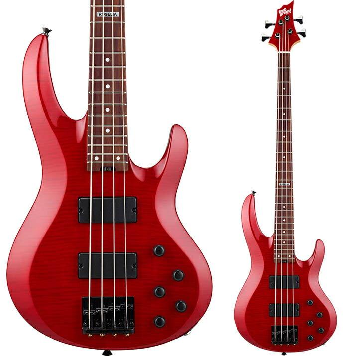 ギター, エレキギター ESP ! BanG Dream! Roselia Model BTL LISA( See Thru Red )