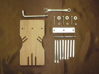 HOSCO[ホスコ]楽器組み立てキットKA-KIT-10カリンバキット