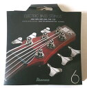 【メール便可】Ibanez アイバニーズ 6弦 エレキ ベース弦 ライトトップミディアムボトム IEBS6C