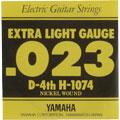 【メール便可】YAMAHA エレキギター弦 バラ弦 H1074 4D .023インチ