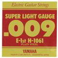 【メール便可】YAMAHA エレキギター弦 バラ弦 H1061 1E .009インチ