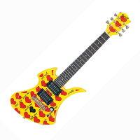 BURNYギターYH-JR.HY2009W/SChideモデルアンプ内蔵ミニギター