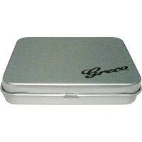 【メール便可】Grecoピックケース缶PKC-500/B