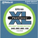 D'Addario EPS165 エレキベース ベース弦 ゲージ 1弦 045 ~ 4弦 105 Long Scale 入門 ベース ...