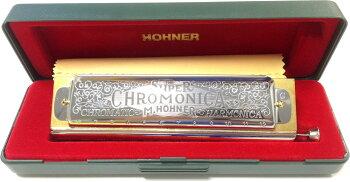 【キズあり特価】クロモニカ270C調クロマチックハーモニカHOHNER270/48スーパークロモニカ27012穴スライド式ハーモニカホーナーSuperChromonica-270ChromaticHarmonicaハモニカケース付きリード楽器