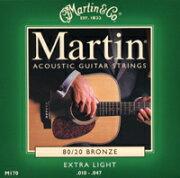 マーチン エクストラライト ブロンズ アコースティックギター スタンダード フォーク マーティン ストリングス