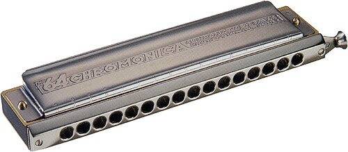 ホーナー スライド式 クロマチックハーモニカ クロモニカ280 16穴 280/64 4オクターブ ハーモニカ ...