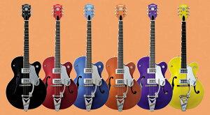 TV Jones Classicピックアップ搭載、ホットなロックンロールギターをお探しのあなたに...GRETSC...