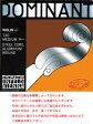 [ メール便 対応可 ] DOMINANT ( ドミナント ) ヴァイオリン弦 3弦 D 132A ■■ペルロン/シルバー巻■■ 定番の弦です。分数あります。バイオリン 弦