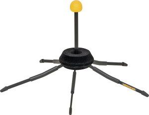 トランペット スタンド コルネット ハーキュレス トラベライト コンパクト 組み立て オーケストラ ブラスバンド おすすめ 持ち運び