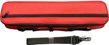 在庫限りM'sフルートケースカバーMFC7712赤いフルートケースカバー肩掛けショルダーストラップセットスタンダードC管Msエムズ木管楽器ケースフルートケースカバー持ち運びコンパクト軽量カラーレッドMFC-7712REDC調