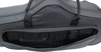 送料無料(条件付)グリス付きテナーサックスセミハードケースT-N-C-501軽いリュックタイプショルダーストラップ付き持ち運びテナーサックス用ケースカラーブラックTenorsaxcasesテナーサックスケース楽器収納軽量タイプネック収納コンパクト