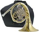 フレンチホルン FH-700 新品 アウトレット B♭ シングルホルン 4ロータリー ホルン 初心者 管楽器 本体 French horn 【 FH700 outlet 】 J.Michael Jマイケル
