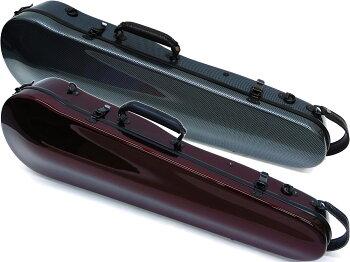 バイオリンケースリュック可能4/4サイズカーボンファイバー製ハードケースCFV-2スリムタイプカラーチェリーピンクラベンダー(紫色)オレンジブラウンブルー(青色)レッド(赤色)ホワイトグレーviolincases軽量バイオリン用ケース