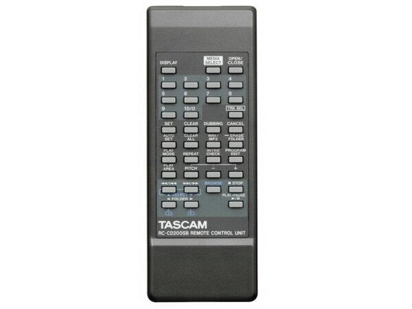 TASCAM ( タスカム ) CD-200SB ◆ CDプレーヤー ・SD/SDHCカード・USBメモリー対応【9月24日時点、在庫あり 】 [ 送料無料 ]
