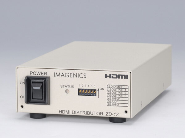 IMAGENICS ( イメージニクス ) ZD-13 ◆ 1入力3出力 HDMI 分配器 [ 映像・音声関連機器 ][]:ワタナベ楽器 SHOP