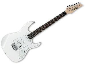 アイバニーズでギターをはじめよう!Ibanez ( アイバニーズ ) GRX40A(PW) 【アクセサリーキット...