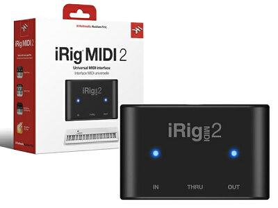 iPhone、iPad、iPod touchそしてMac/PCに対応したユニバーサルなポータブルMIDIインターフェイ...