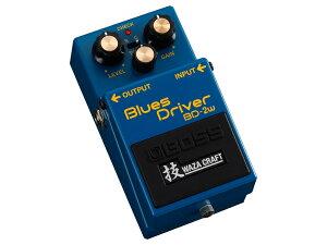 究極のトーンを生み出す特別仕様のブルースドライバーBOSS ( ボス ) BD-2W 【Blues Driver 技 W...