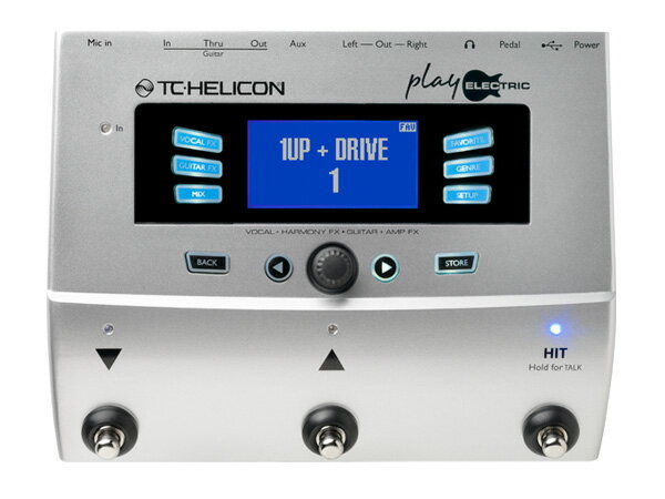DAW・DTM・レコーダー, その他 TC HELICON Play Electric