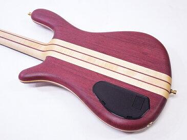 Warwick ( ワーウィック ) Streamer Stage I 4st(Custom Purple Heart-Maple / Natural Oil Finish )【カスタムショップ WO 】【夏特価! 】 メイドイン ジャーマニー
