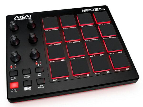 AKAI professional ( アカイ プロフェッショナル ) MPD218 ◆【MIDIコントローラー】 ◆【送料無料】【DAW】【DTM】