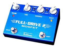 ギターの原音を変えることなく、様々な歪みを演出可能。Fulltone ( フルトーン ) FULLDRIVE-2 M...
